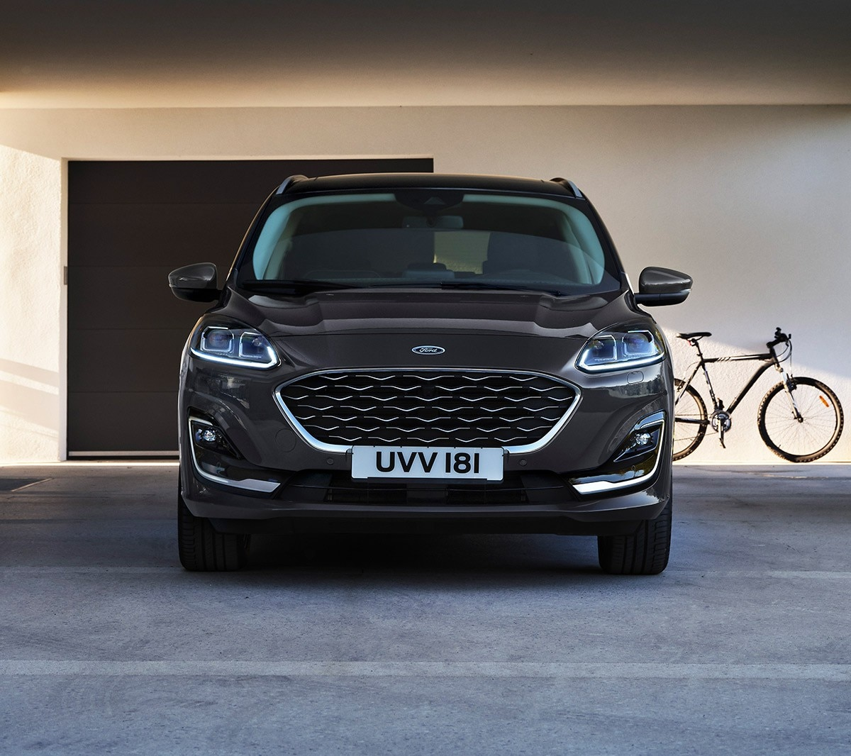 Ford Kuga Vignale parked